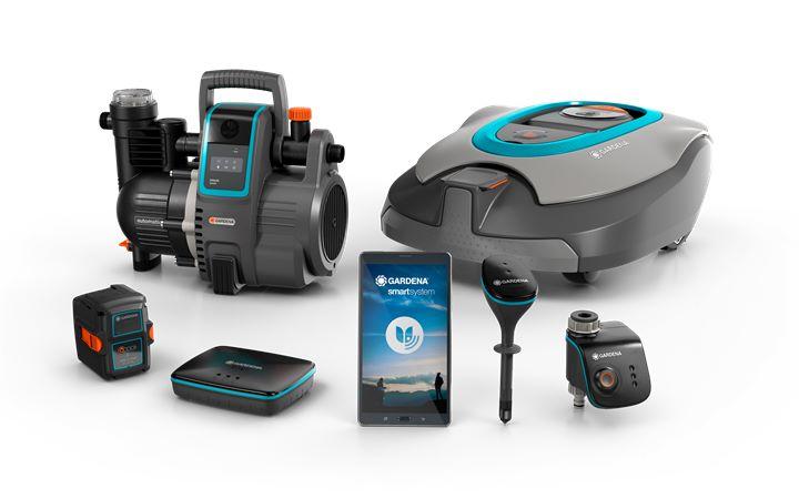 gardena smart system online kopen bij tuin en water. Black Bedroom Furniture Sets. Home Design Ideas