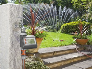 automatisering beregening van de tuin